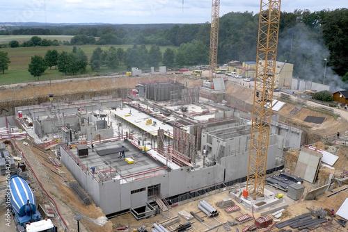 Staande foto Industrial geb. chantier et construction