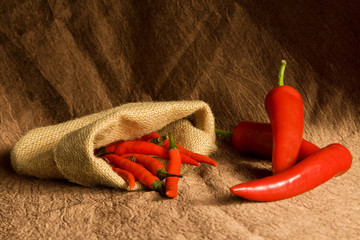 Composition with different pepper