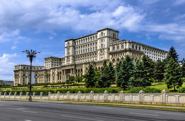 Bucharest, Palace of Parliament, Romania