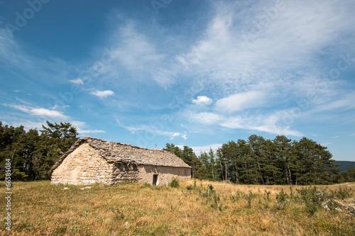 Chapelle sur le plateau de Balduc, Valdonnez Poster