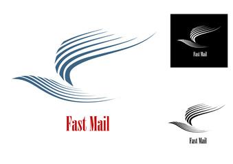 Fast mail symbol