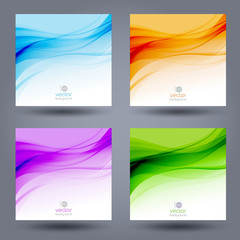 Abstract color template background. Brochure design