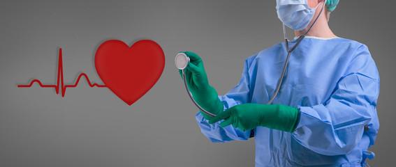 Herz Ärztin Kardiologie Gesundheit