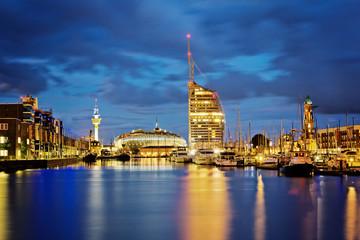 Yachthafen und Havenwelten – Bremerhaven