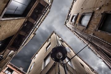 Gloomy alley