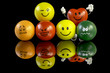 Stress balls with many different personality - 66590215