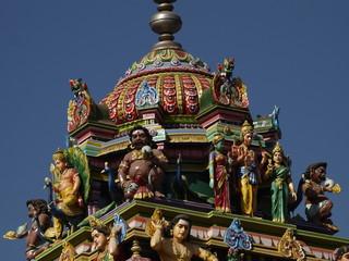Templo hinduista en Hampi (India)