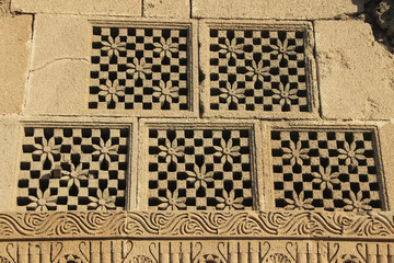 Carved Stone Window Panes