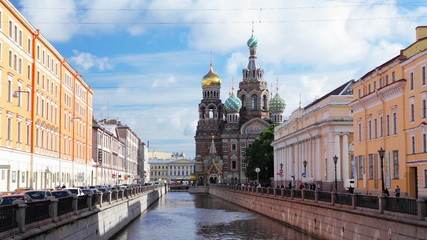 Church on the Spilled Blood. St. Petersburg. Russia.