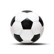 Klassischer Fussball mit Schatten