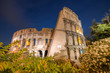 Fototapeta Coloseum - Noc - Fortyfikacja