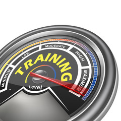 vector training conceptual meter indicator