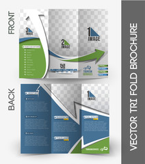 Travel Tri-Fold Brochure Design.