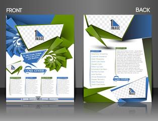 flyer design content background.