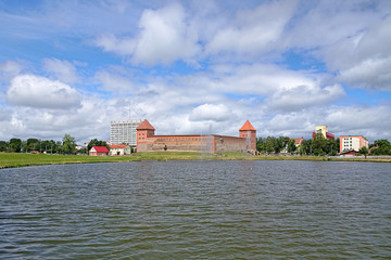 View of Lida Castle, Belarus