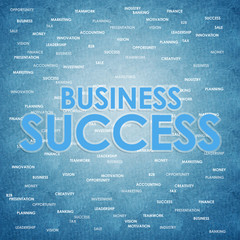Business concept for success