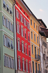 Colorful italian houses