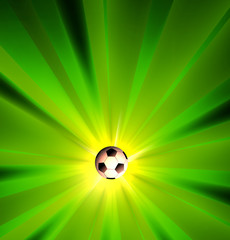 Creative Soccer Light Design Templare, easy all editable