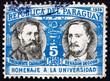 Postage stamp Paraguay 1939 President Bernardino Caballero and J