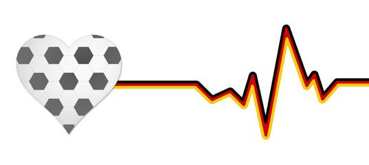 Herz Puls Fußball
