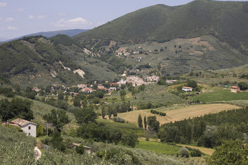 Villaggio rurale in Umbria