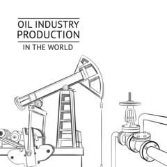 Oil industry objects.