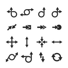 Arrow sign set