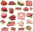 Collage de carnes