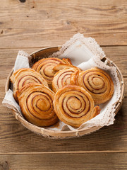 cinnamon buns or rolls