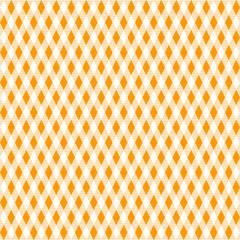 Tischdeckenmuster Rauten orange Vektor - nahtlos wiederholbar