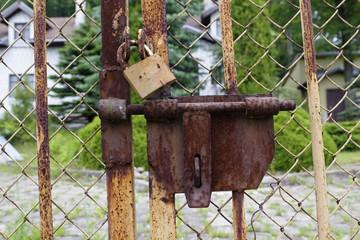 Rusty locks