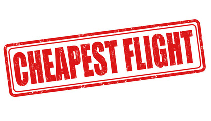 Cheapest flight stamp