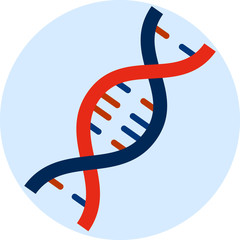 Vector DNA Flat Icon