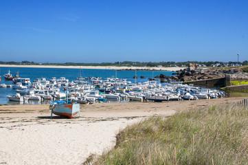 Le port de la Pointe de Trévignon à Trégunc - Finistère