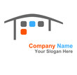 logo immobilier couleurs