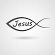 Obrazy na płótnie, fototapety, zdjęcia, fotoobrazy drukowane : Jesus fish