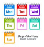 Fototapety Days of the week
