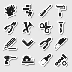Tools Icons as Labels Vol 2