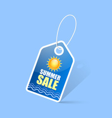Summer sale tag