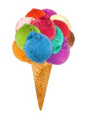 big ice cream cone