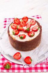 strawberry cheese cake