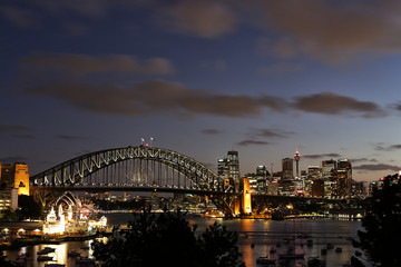 Lavender Bay, Sydney at dusk