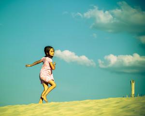 danser au sommet de la dune