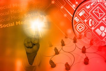 Social Media Orange
