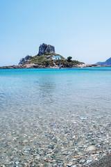 Agios Stefanos Beach in Kos, Greece
