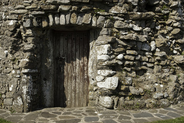 Small Wooden Door Horizontal