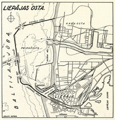 Port of Liepaja, ca. 1930
