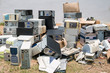 Pile of old computers - 66614427