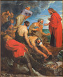 Mechelen - The Miracle fishing (1618) by Peter Paul Rubens