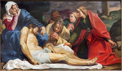 Mechelen - Deposition of the cross in st. John church